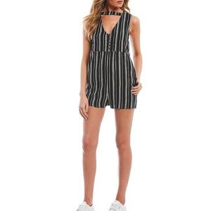 NWOT Element Striped Romper